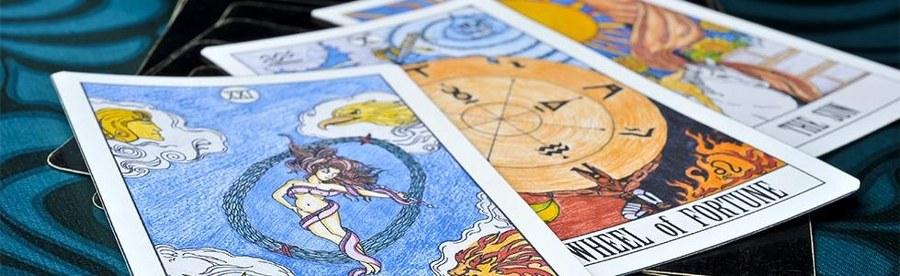 carte del mazzo dei tarocchi